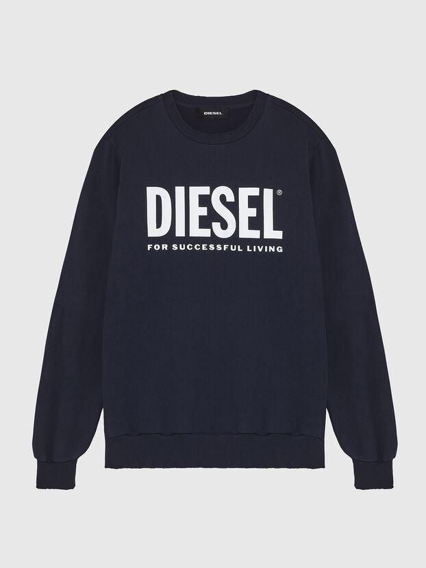 S-GIR-DIVISION-LOGO, Dark Blue - Sweatshirts