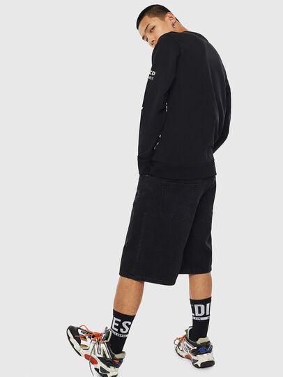 Diesel - S-GIRK-S1, Black - Sweatshirts - Image 3