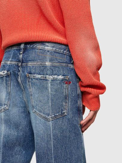 Diesel - D-Macs Straight Jeans 09A25, Medium Blue - Jeans - Image 3