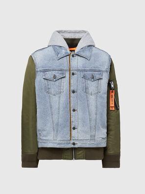 W-STORMY, Blue/Green - Winter Jackets