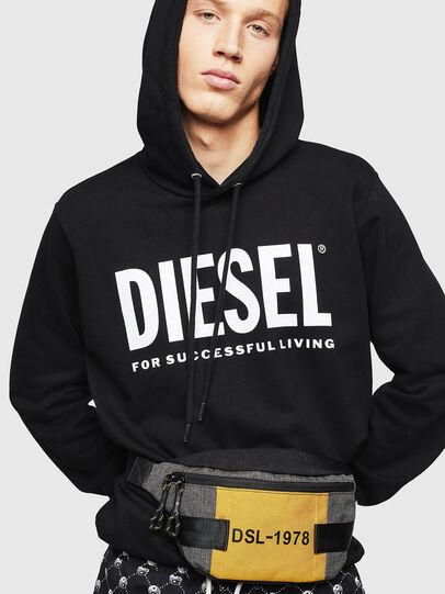 Diesel - FELTRE, Black/Yellow - Belt bags - Image 6