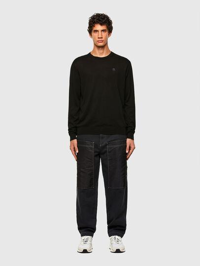 Diesel - K-CROFT, Black - Sweaters - Image 4