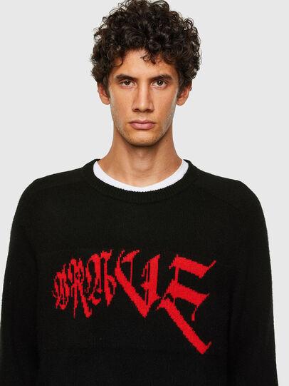 Diesel - K-WILSON, Black - Sweaters - Image 3