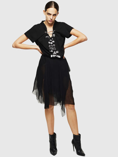 Diesel - D-CERYL-B, Black - Dresses - Image 6