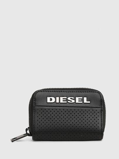 Diesel - JAPAROUND, Black - Zip-Round Wallets - Image 1