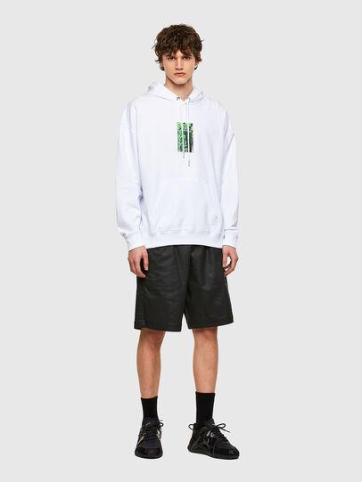 Diesel - S-UMMER-E1, White - Sweatshirts - Image 4