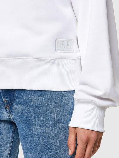 Diesel - F-LYM-C.C, White - Sweatshirts - Image 3
