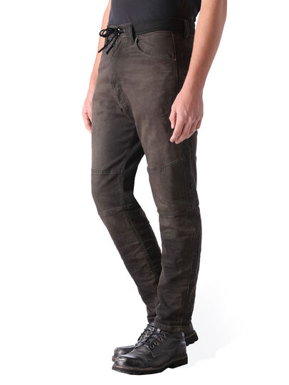 Diesel - Narrot JoggJeans 0848G, Black/Dark Grey - Jeans - Image 3