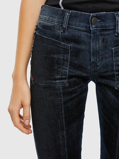 Diesel - Slandy 009KN, Dark Blue - Jeans - Image 6