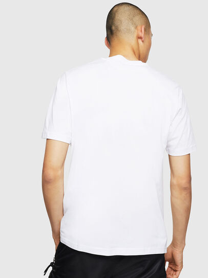 Diesel - T-JUST-LOGO, White - T-Shirts - Image 2