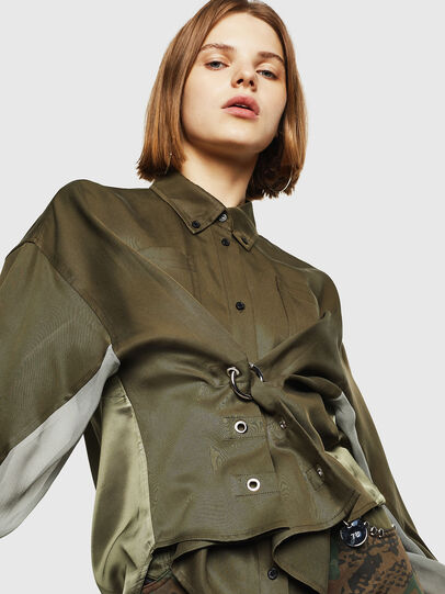 Diesel - C-LEXYS, Military Green - Shirts - Image 4