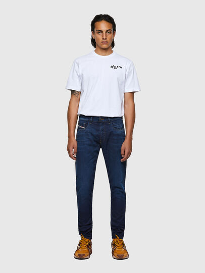 Diesel - D-Strukt Slim JoggJeans® 069WS, Dark Blue - Jeans - Image 5