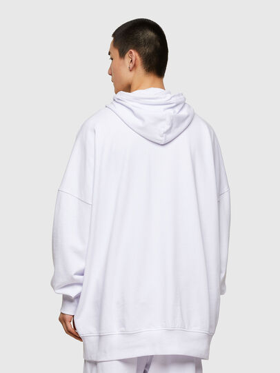 Diesel - S-ZYVER, White - Sweatshirts - Image 2