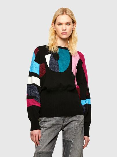 Diesel - M-MYSTIC, Black - Sweaters - Image 1