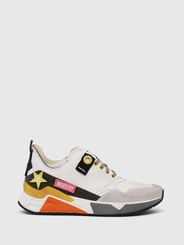 S-BRENTHA LC VELCRO, White - Sneakers