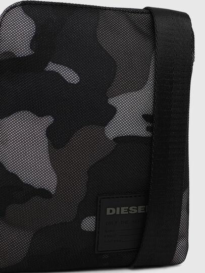 Diesel - F-DISCOVER CROSS, Blue/Grey - Crossbody Bags - Image 5