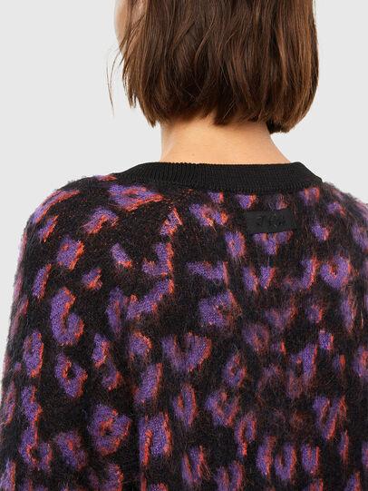 Diesel - M-RHONDA, Violet/Black - Sweaters - Image 4