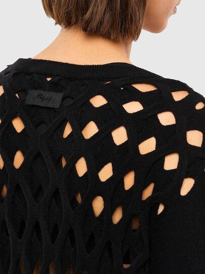 Diesel - M-RADHA, Black - Sweaters - Image 4