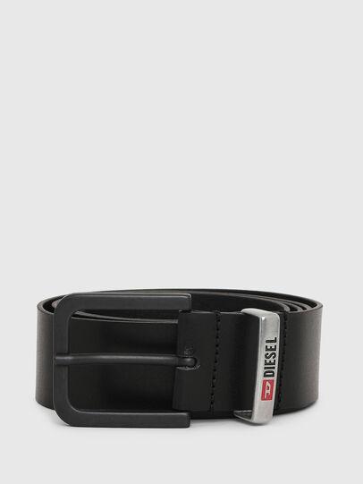 Diesel - B-CASTEL, Black - Belts - Image 1