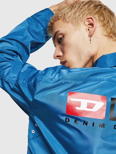 Diesel - J-ROMAN-P, Blue - Jackets - Image 5