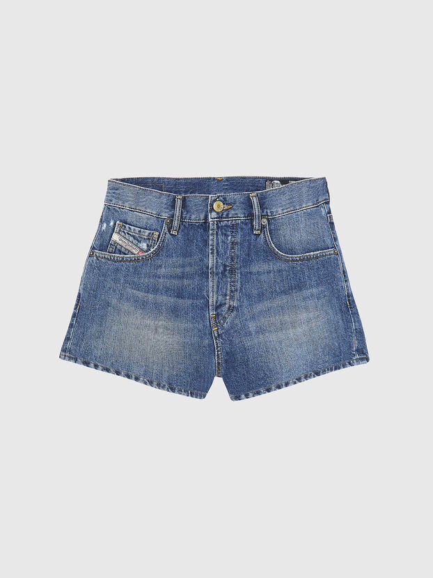 D-BOY-SHORT, Medium Blue - Shorts