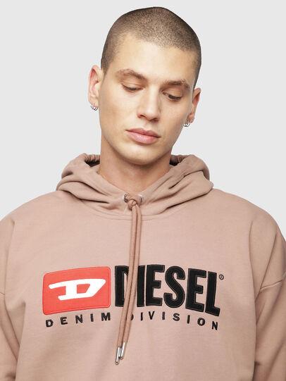 Diesel - S-DIVISION, Face Powder - Sweatshirts - Image 3