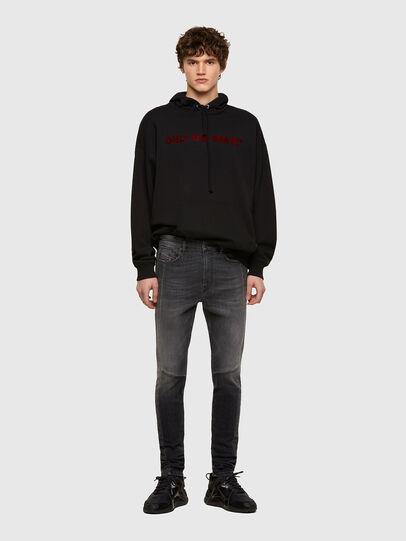 Diesel - D-Amny Skinny Jeans 009QE, Black/Dark Grey - Jeans - Image 5
