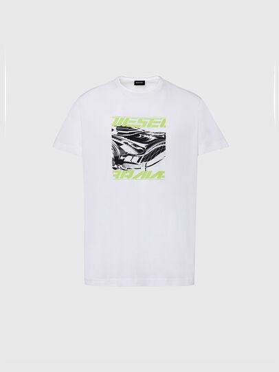 Diesel - T-DIEGOS-K33, White - T-Shirts - Image 1