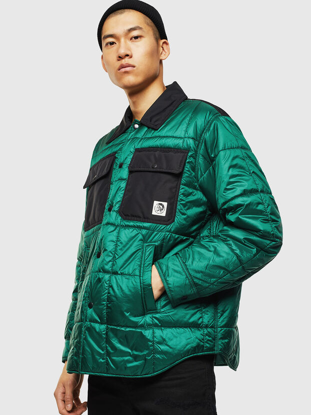 J-WELLES, Green - Winter Jackets