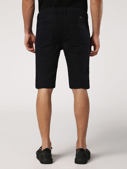 Diesel - KROOSHORT JOGGJEANS, Black Jeans - Shorts - Image 3