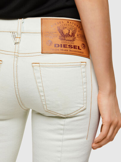 Diesel - D-Ebbey Bootcut Jeans 009ZA, White - Jeans - Image 3
