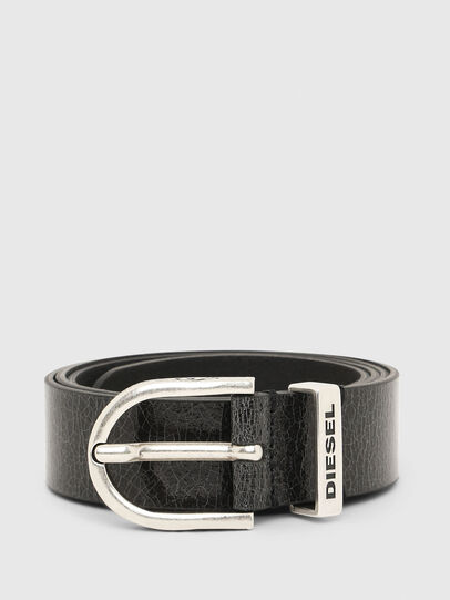 Diesel - B-WORN, Black - Belts - Image 1