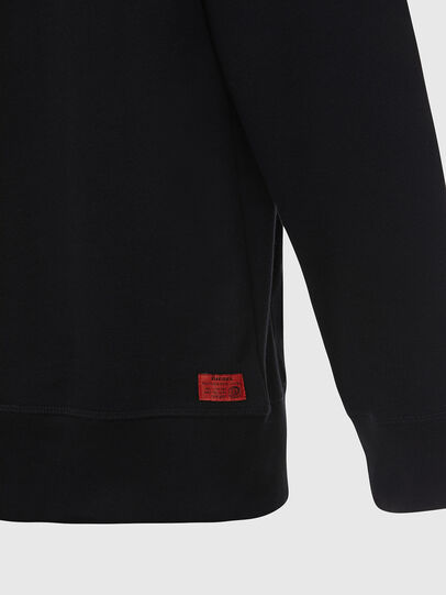 Diesel - UMLT-BRANDON-Z, Black - Sweatshirts - Image 4