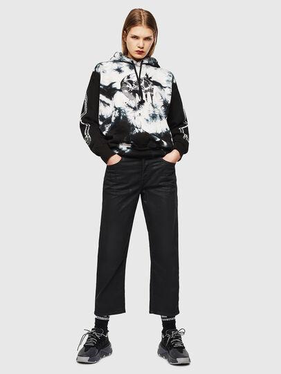 Diesel - S-ALBY-Y, Black/White - Sweatshirts - Image 6