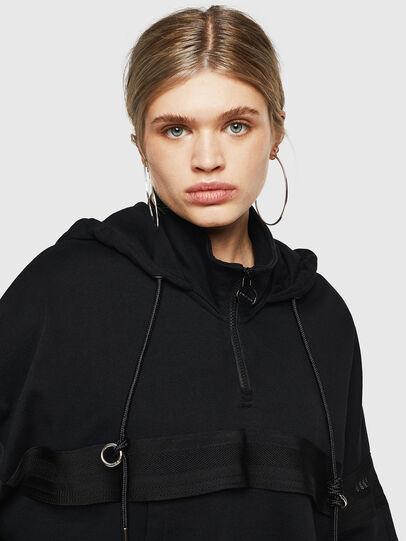 Diesel - F-AVAL, Black - Sweatshirts - Image 3