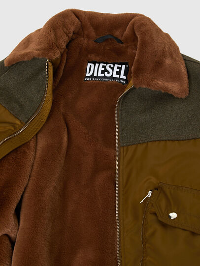 Diesel - W-LOUIS, Dark Green - Winter Jackets - Image 5