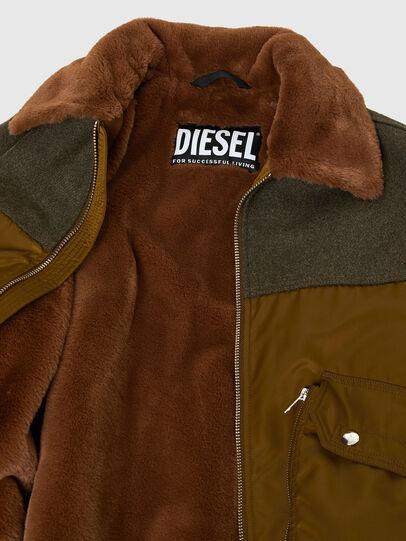 Diesel - W-LOUIS, Dark Green - Winter Jackets - Image 5