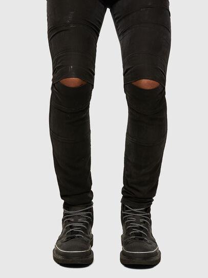 Diesel - D-Strukt JoggJeans® 009GH, Black/Dark Grey - Jeans - Image 5