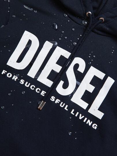 Diesel - S-GIR-HOOD-DIVISION-, Dark Blue - Sweatshirts - Image 5