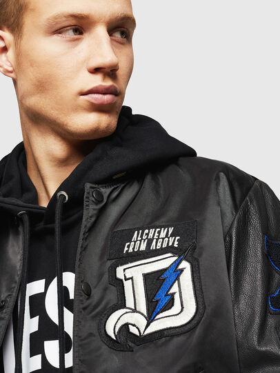 Diesel - L-KHARKOV,  - Leather jackets - Image 3