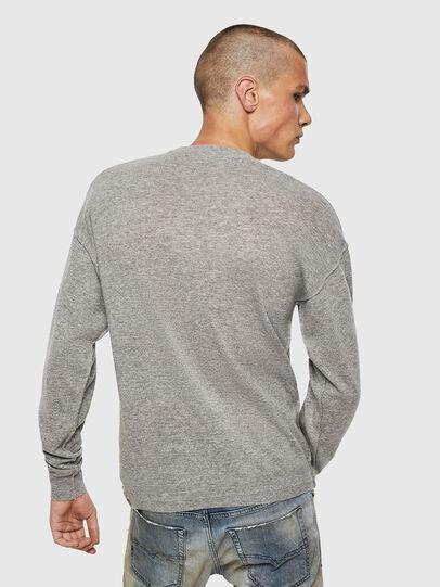 Diesel - K-LETO, Grey - Sweaters - Image 2