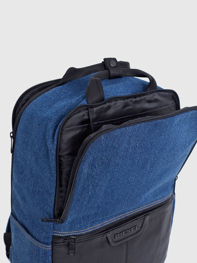 Diesel - GINKGO FP, Blue Jeans - Backpacks - Image 5