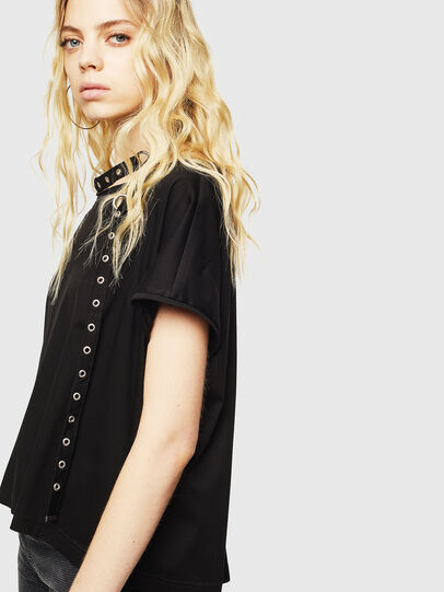 Diesel - T-JALA, Black - T-Shirts - Image 5