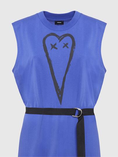 Diesel - D-FAIRY, Blue - Dresses - Image 4