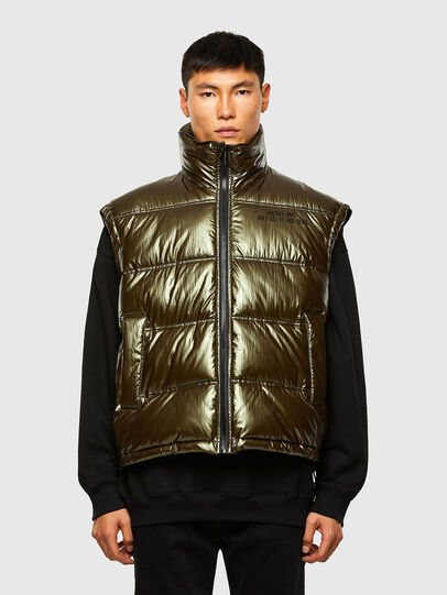 Diesel - W-NORTH, Military Green - Winter Jackets - Image 1