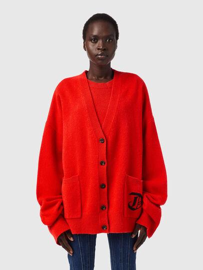 Diesel - M-LOUISIANA, Orange - Sweaters - Image 1
