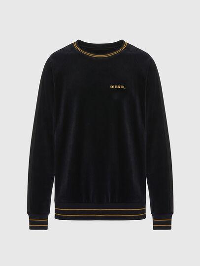 Diesel - UMLT-MAX, Black - Sweatshirts - Image 1