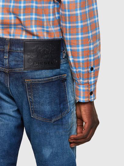 Diesel - D-Strukt Slim Jeans 09A13, Medium Blue - Jeans - Image 4