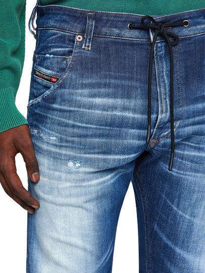 Diesel - Krooley Tapered JoggJeans® 09B52, Medium Blue - Jeans - Image 3