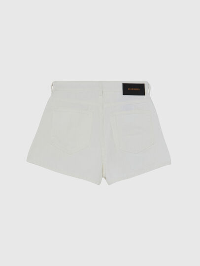 Diesel - D-ISI-SHORT, White - Shorts - Image 2
